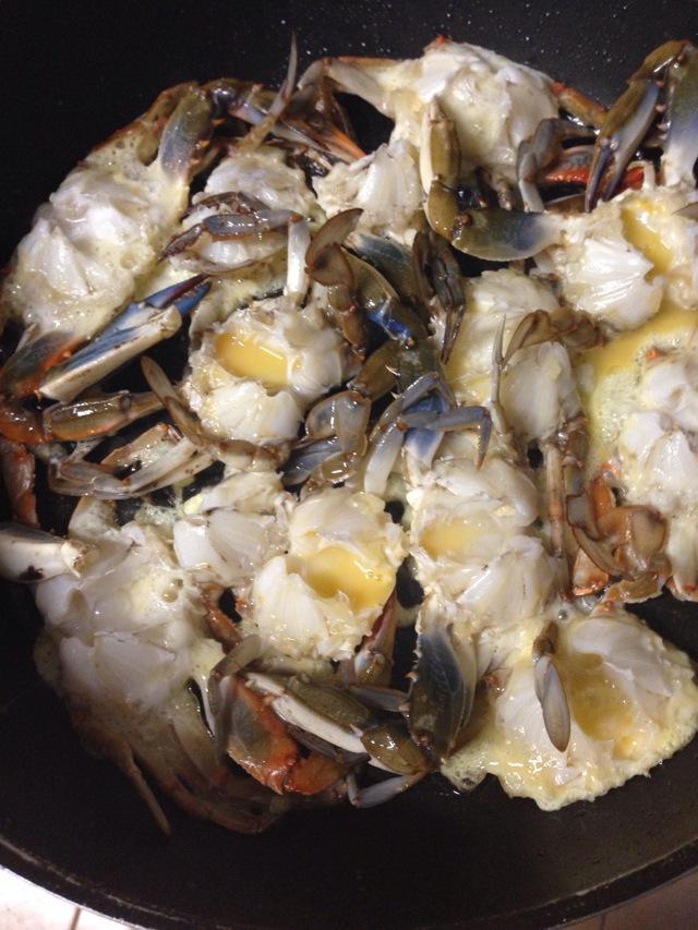 鸡蛋螃蟹的做法步骤