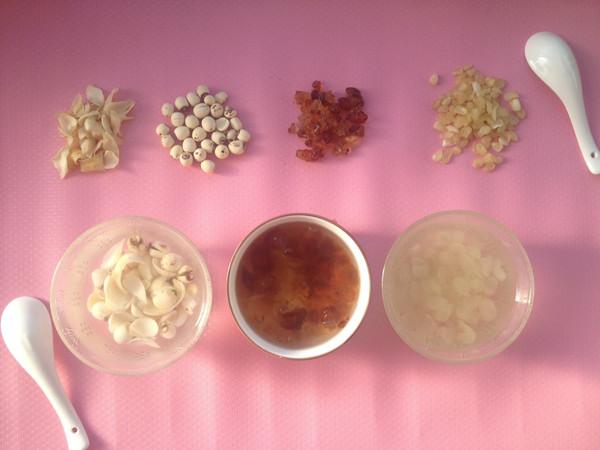 百合皂角米清炖动物盒子汤的做法_桃胶_豆果菜谱做法奶油莲子图片