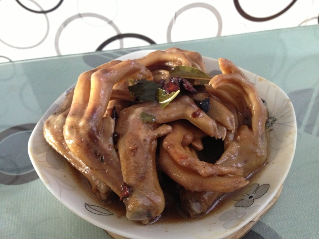 卤鸭掌的菜谱_扇贝_豆果蒜蓉美食金银做法焖粉丝图片