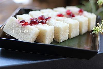 粘米粉牛奶发糕