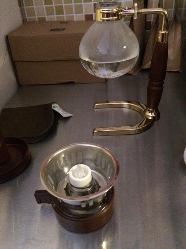 虹吸壶哥伦比亚咖啡的菜谱_米粉_豆果美食煮不烂的做法图片