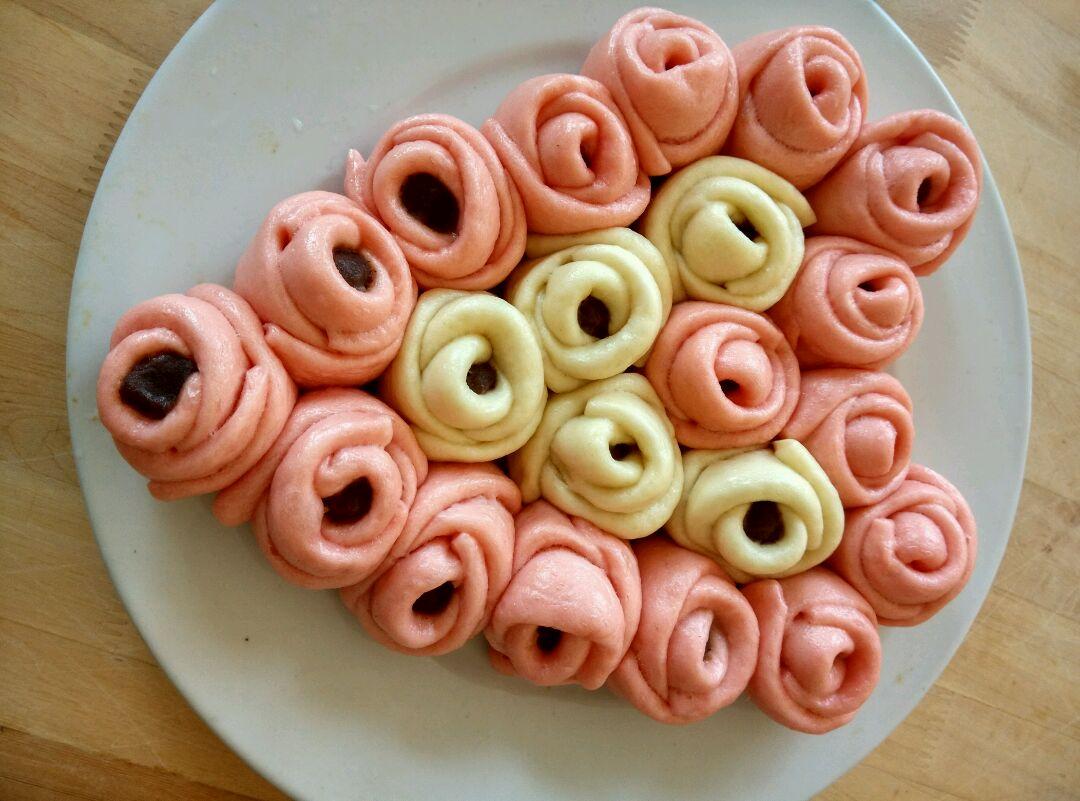 玫瑰花花卷的做法图解16