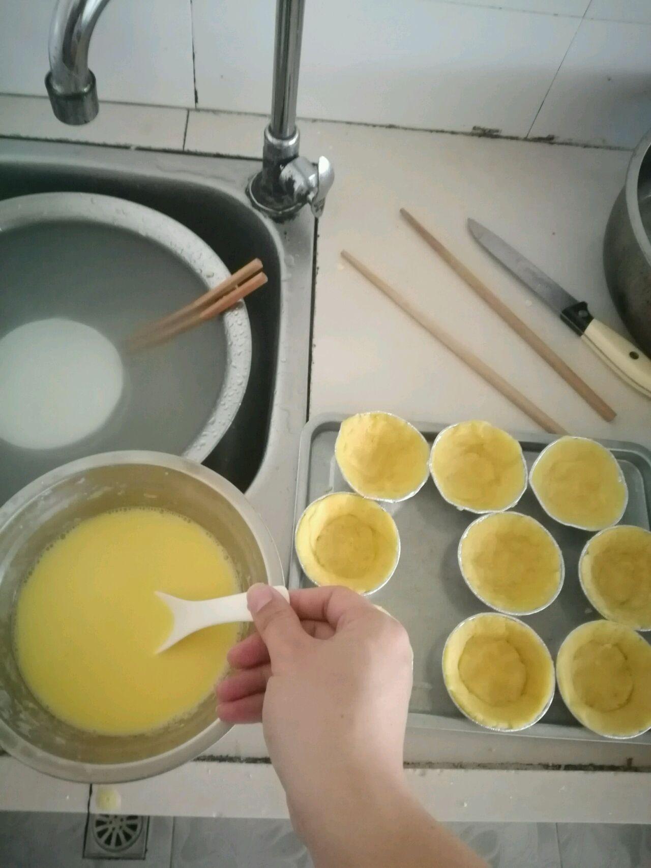步骤简单详细制作蛋挞(含蛋挞皮和蛋挞水制作方法)