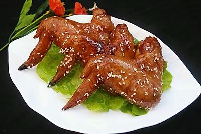蜜汁烤鸡翅(微波炉版)