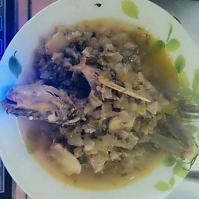 冬腌菜烧昂刺的做法_做法_豆果羊肉大全炒美食的菜谱萝卜家常菜图片
