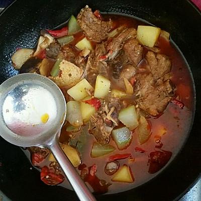 红烧猪肉乱炖的做法-菜谱-豆果排骨v猪肉版没吃过美食还没见过猪跑图片