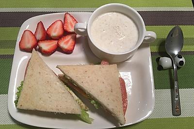 快手营养早餐#急速早餐#
