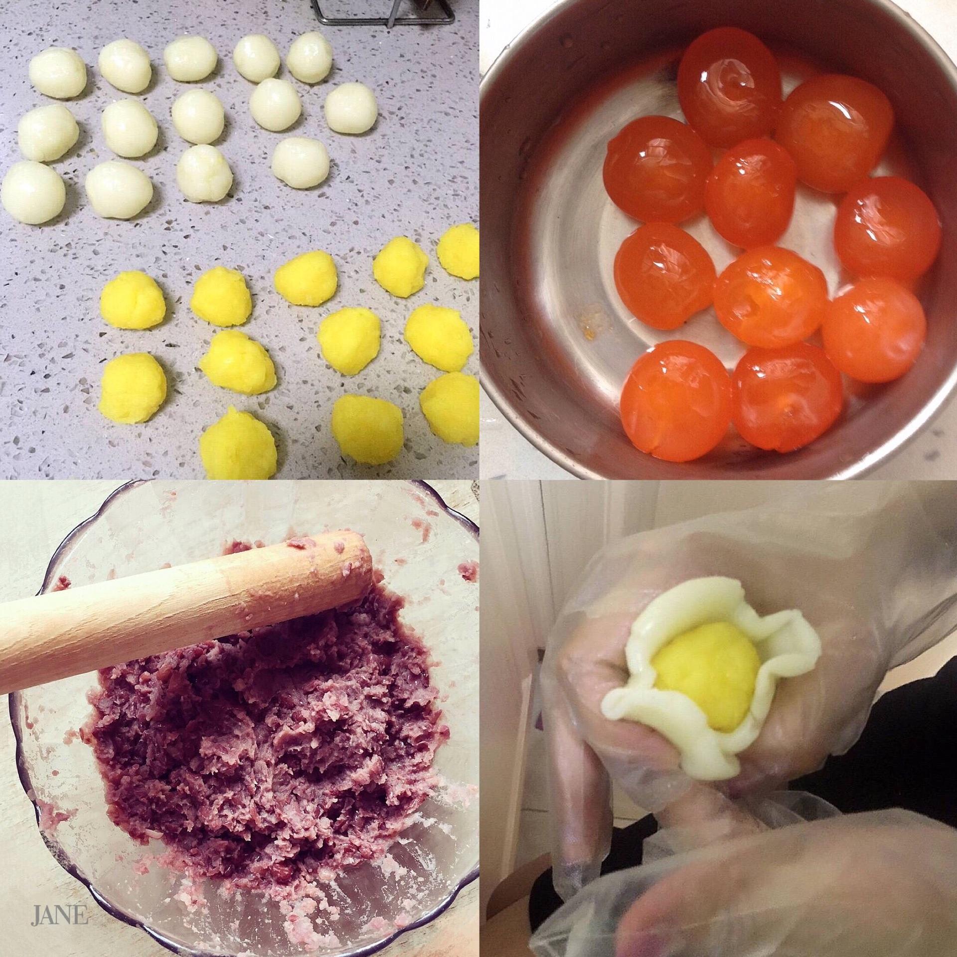 冰皮月饼的做法图解2