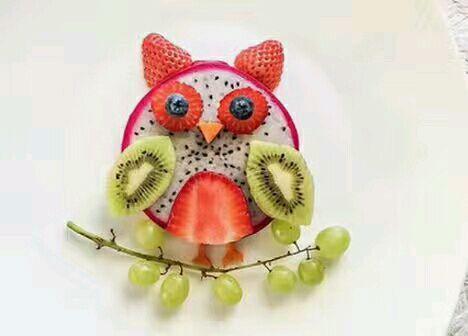超简单营养水果拼盘的做法