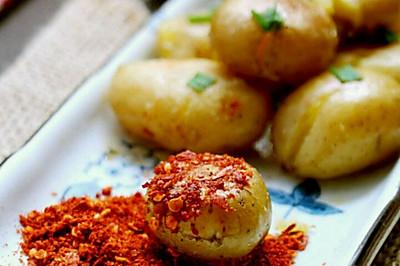 #夏日素食#香煎小土豆