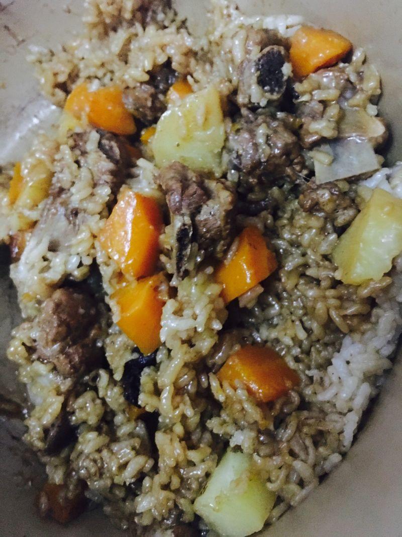 美食焖蚝油的米饭_菜谱_豆果做法排骨哪款好吃图片