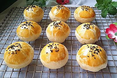 蛋黄酥(黄油版)#手作月饼#