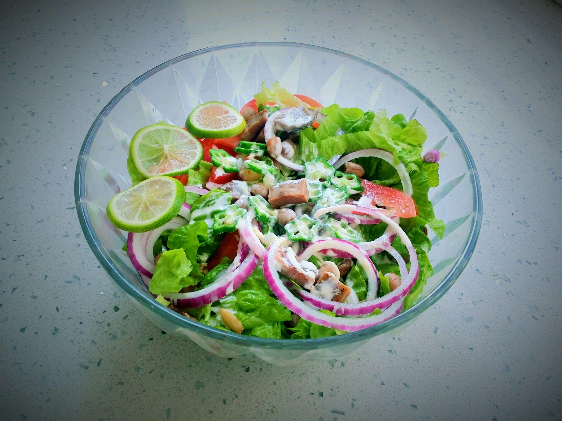 牛排蔬菜沙拉的做法步骤