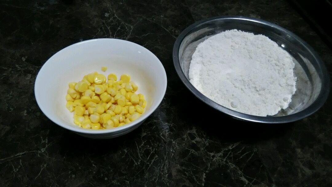 快速早餐——超快玉米饼的做法图解1