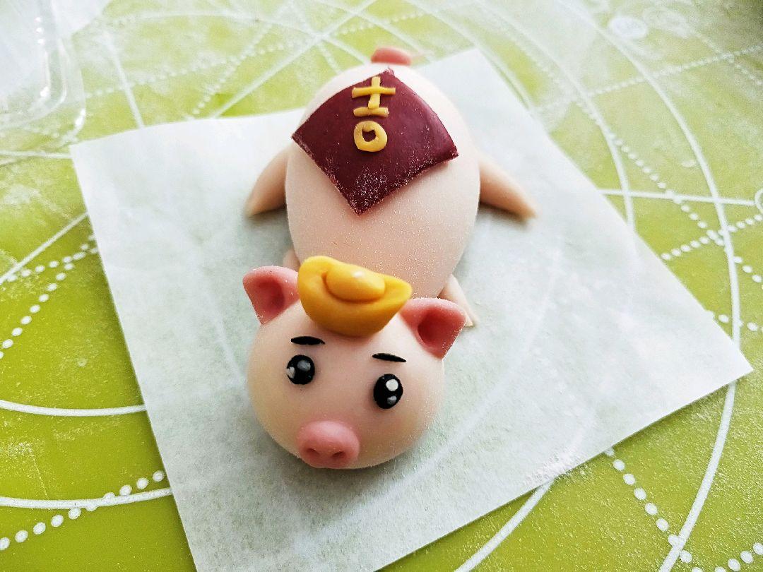 猪馒头_财源广进宝猪馒头(附元宝,铜钱,中国结做法)