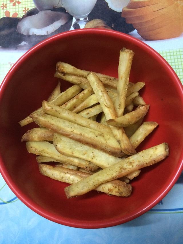烤薯条的做法图解13