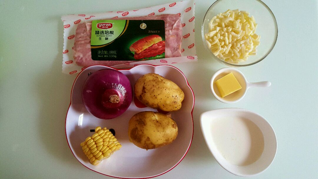 芝士焗土豆图片