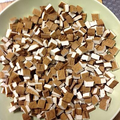 肉丁花生菜谱酱的香干-做法-豆果美食移动版炒方法的食用粳米