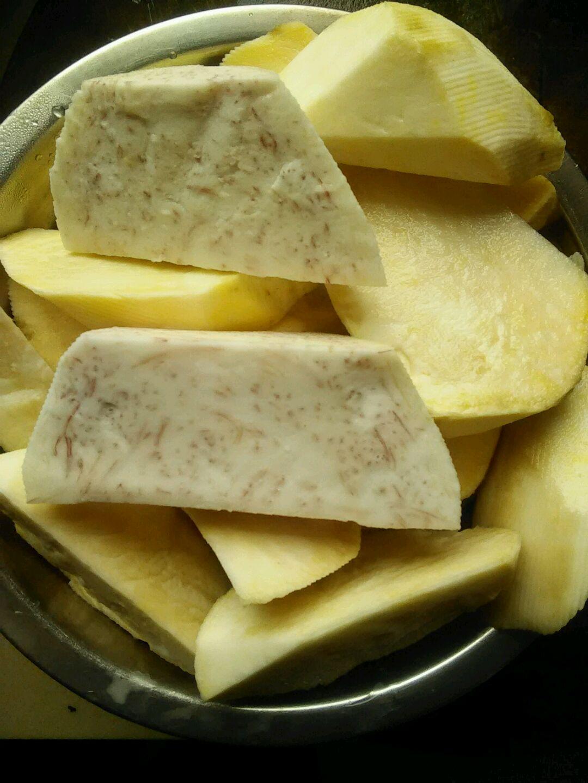 香芋地瓜丸的做法图解1