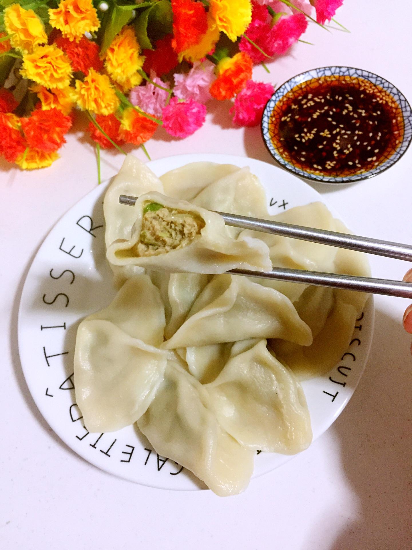 白菜猪肉馅儿饺子的做法图解25