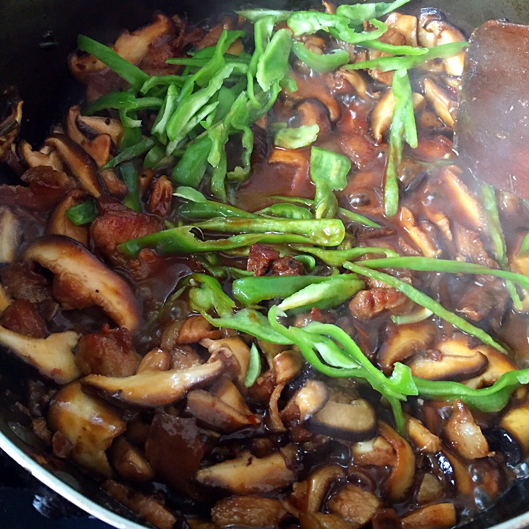 香菇炒肉片的做法图解5