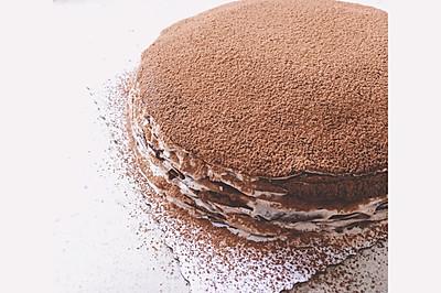 巧克力千层蛋糕(完胜awfully chocolate)