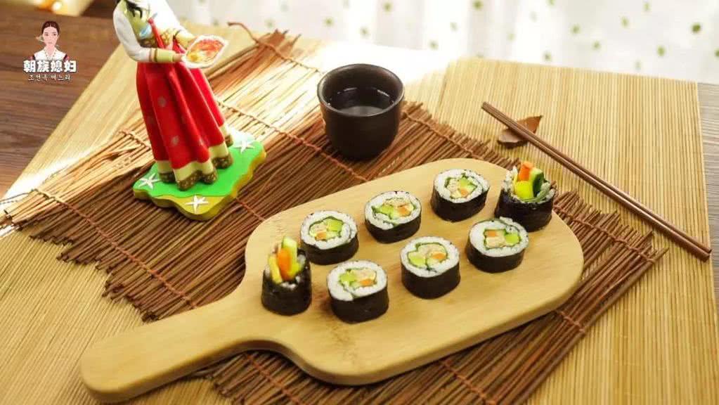 金枪鱼紫菜卷饭的做法图解15