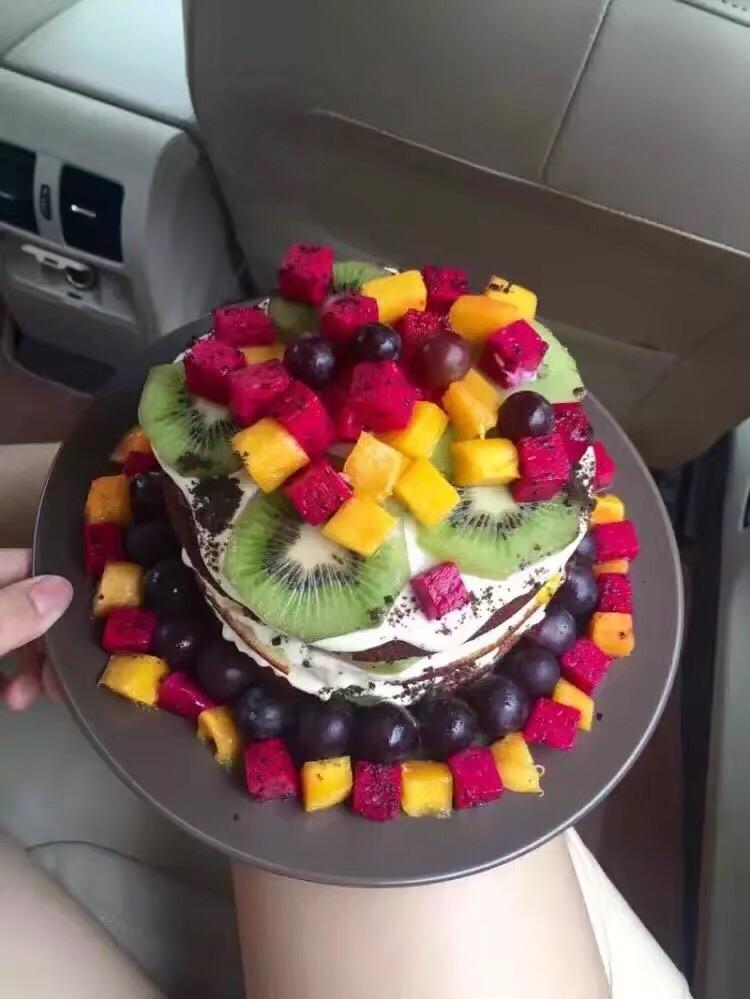 黑森林水果裸胚蛋糕