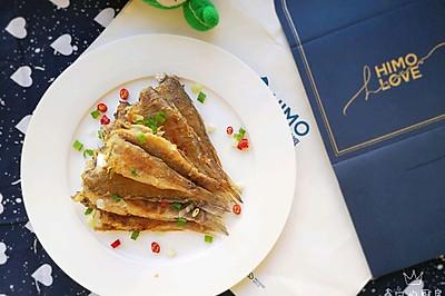 #快手又营养,我家的冬日必备菜品#下酒菜~香酥小黄鱼