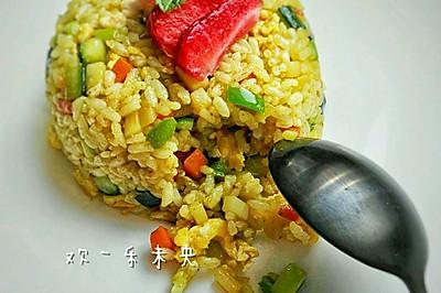 咖喱炒饭#咖喱蒙太奇#
