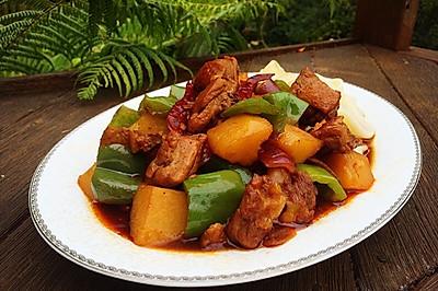 新疆大盘鸡 (附拉面做法)
