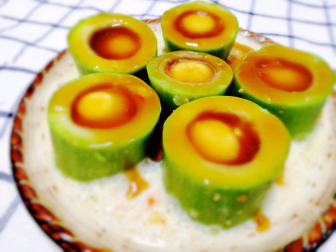#春天肉菜这样吃#西葫芦蒸鹌鹑蛋的菜谱_美食_豆果鸭蛋怎么吃海做法图片