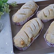 全麦坚果面包~健康的杂粮包