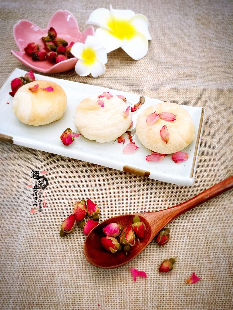 玫瑰花饼的做法图解12