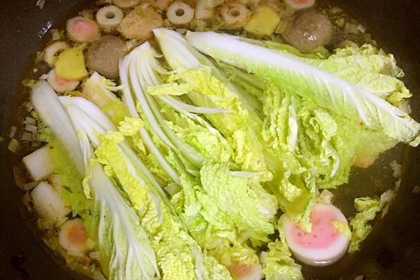 鲜虾娃娃菜煮做法的面条-菜品-豆果美食推荐版菜谱厨娘巧手移动图片