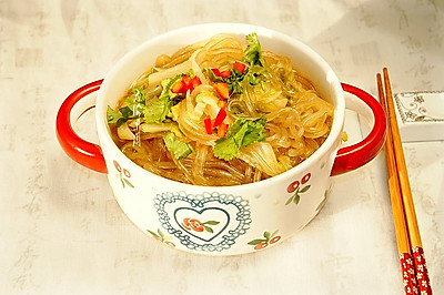 白菜炖粉条 #好吃不上火#
