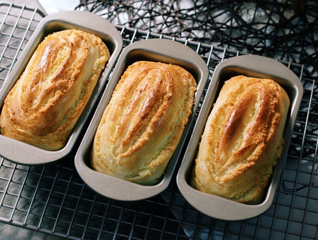 东菱电烤箱之椰蓉千层面包的做法图解14