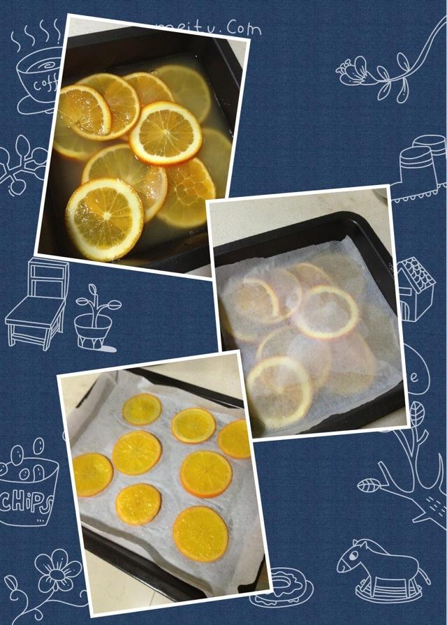 橙子卷的做法步骤 1.
