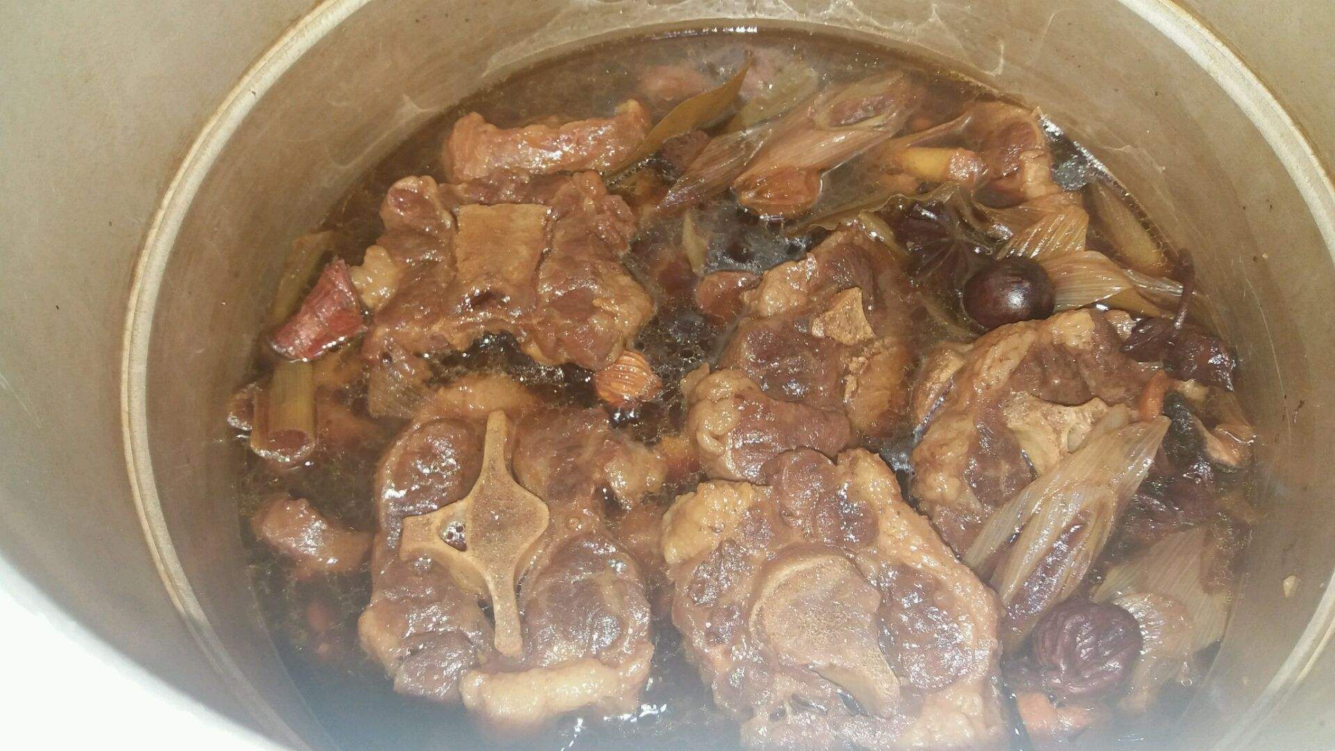 红烧美食的菜谱_做法_豆果易学谱大全家常菜牛尾营养简单图片