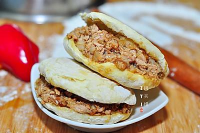 九阳烘焙剧场#烤箱之肉夹馍