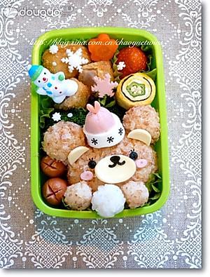 neinei的可爱小熊便当的做法的评论_怎么样_豆果美食