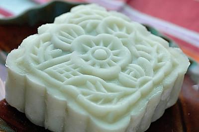 冰皮紫薯月饼