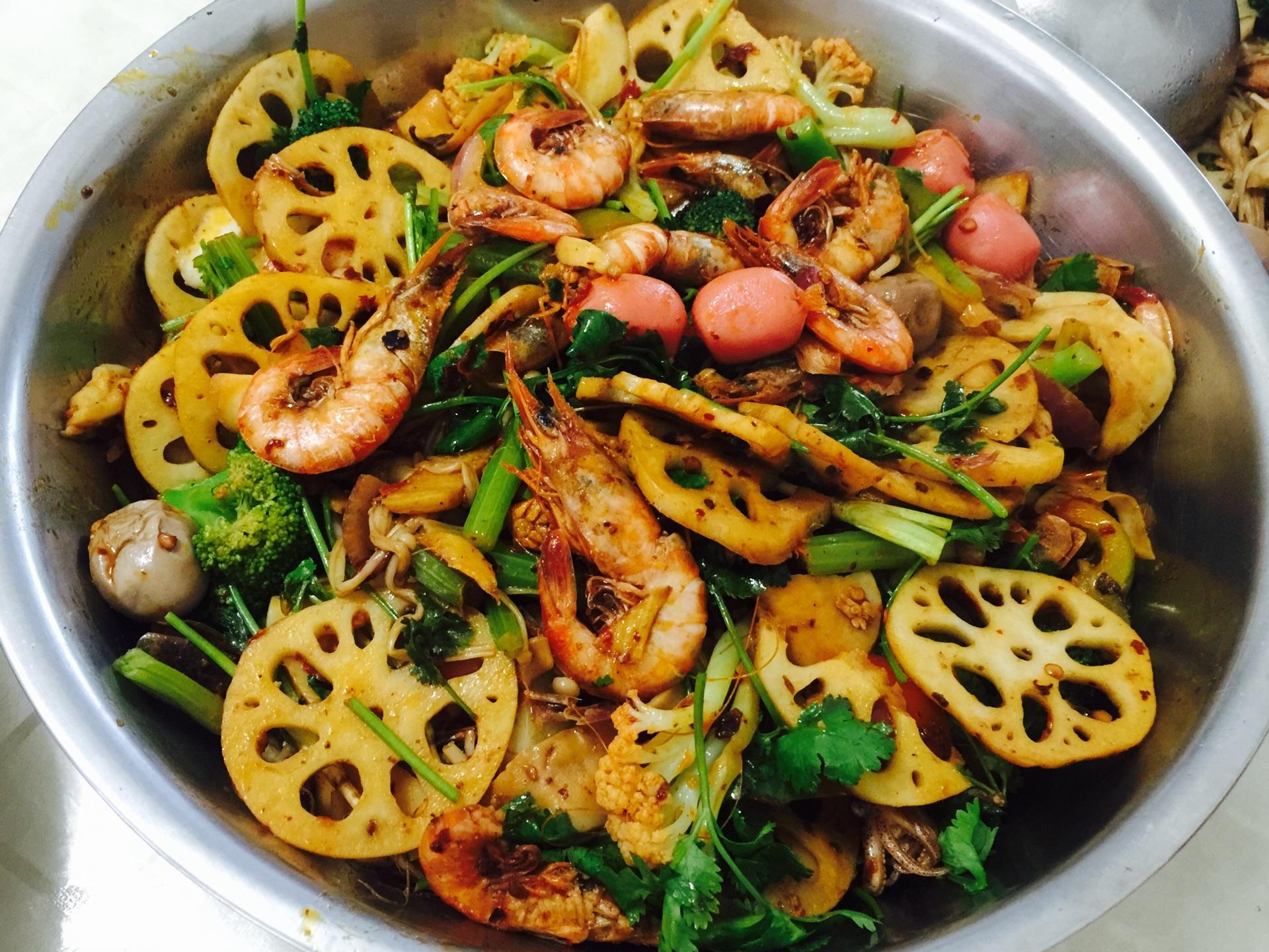 麻辣海鲜锅的做法图解13