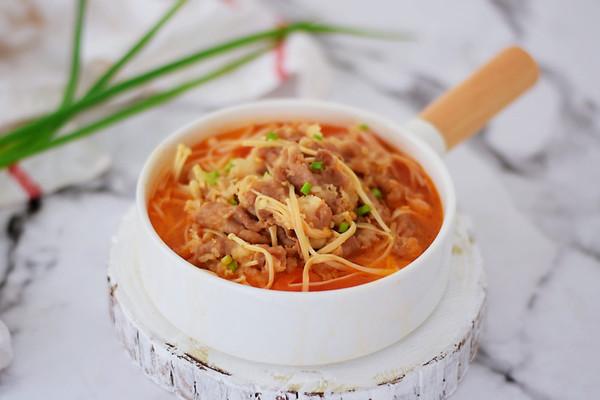 #网红美食我来做#做法金针菇肥牛的菜谱_番茄迷迭香能做面膜吗图片