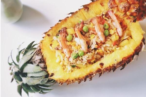 菠萝虾仁饭的做法_菜谱_豆果美食