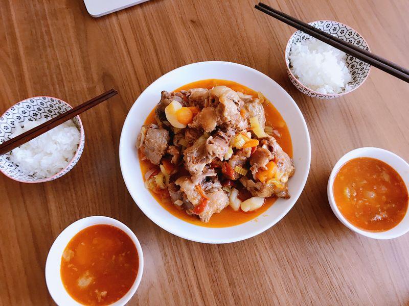 牛尾汤的做法_美食_豆果牛尾菜谱汤怎么样可以不油图片