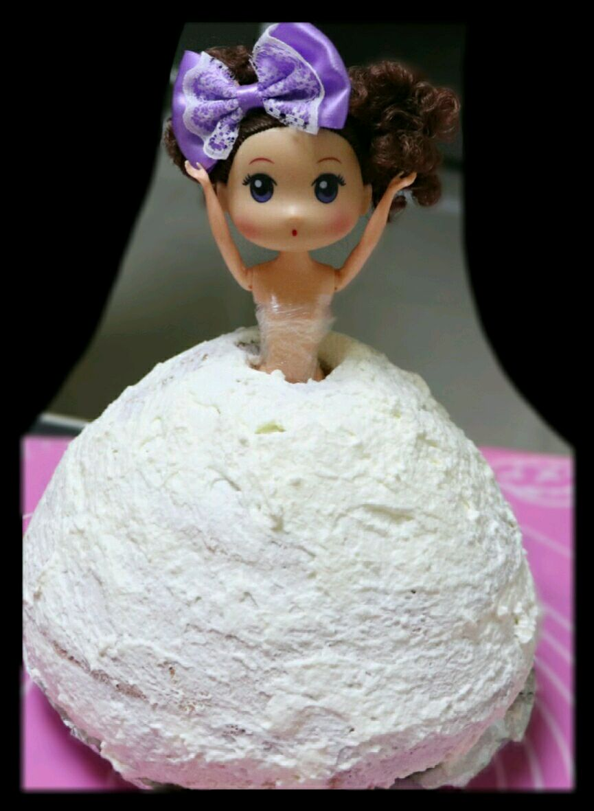 芭比娃娃蛋糕#松下多面美味