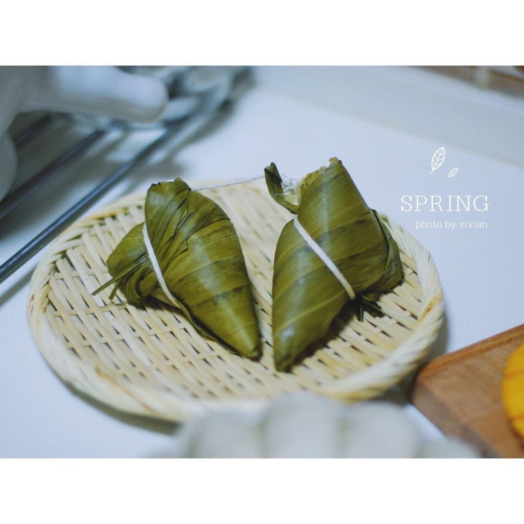 白糖煎粽子的做法步骤