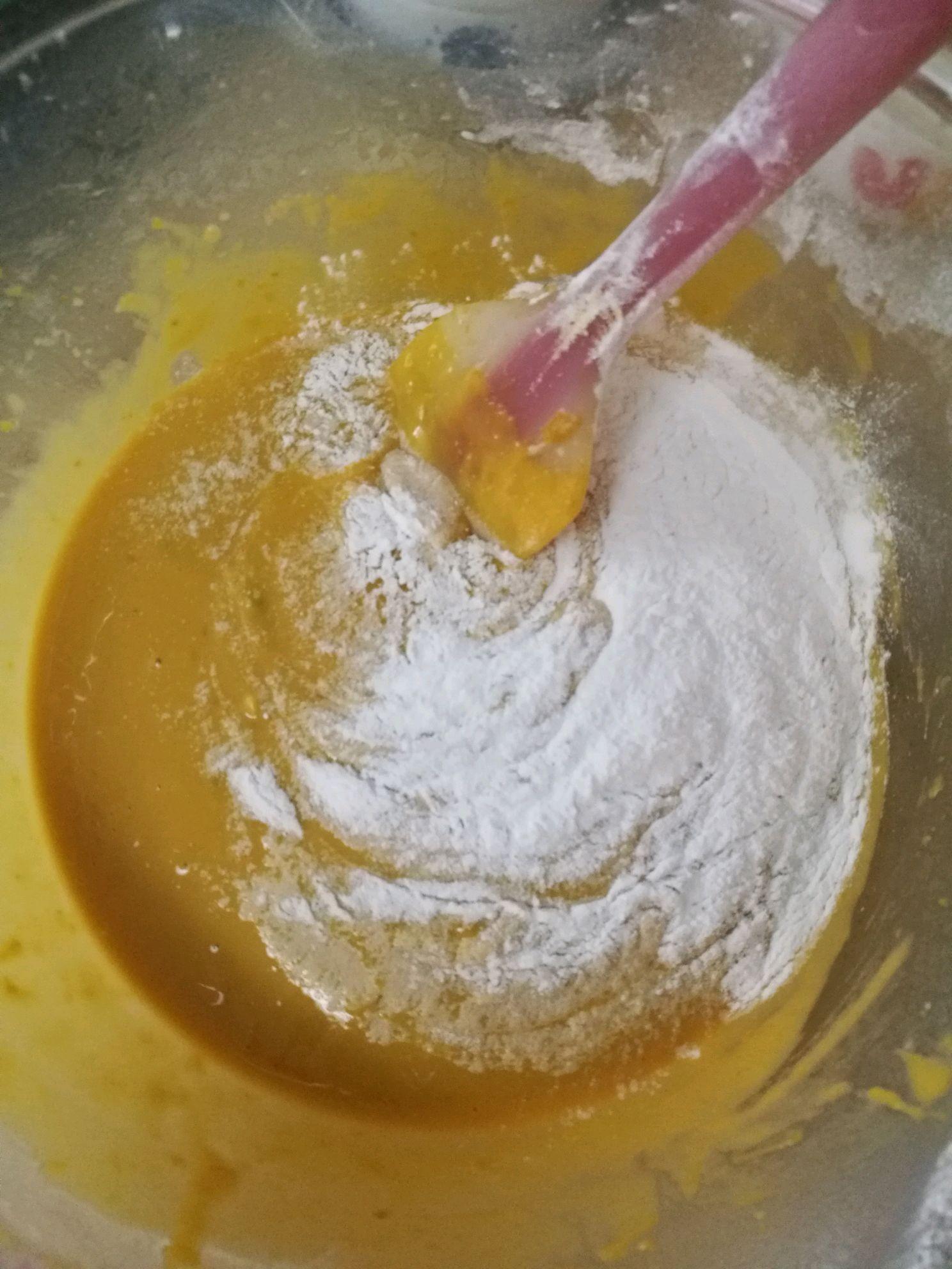 蒸南瓜碗儿糕的做法图解7