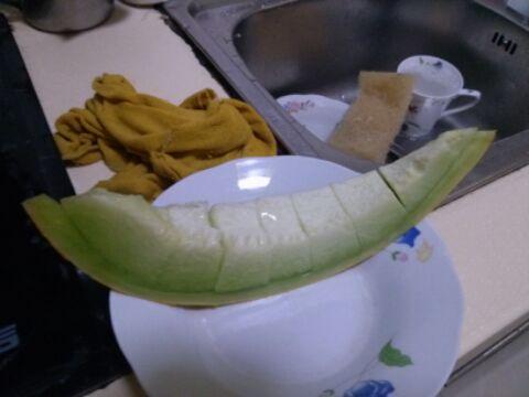 哈密瓜的切法(好看到极点)